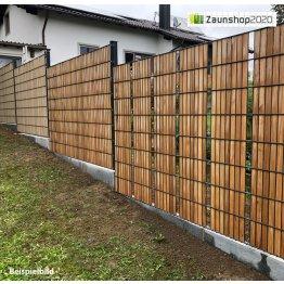 Holz-Sichtschutzstreifen - Nachrüstset