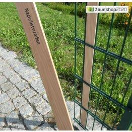 Holz-Sichtschutzstreifen - Nachrüstset Lärche...
