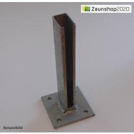 Dübelplatte für Zaunpfosten