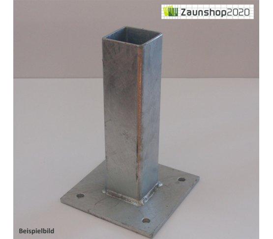 Dübelplatte für Torpfosten
