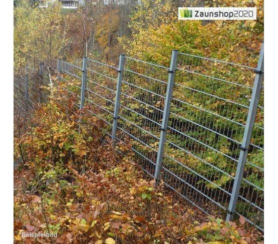 Zaunpfosten mit U-Bügel für Zaunhöhe: 1608 mm feuerverzinkt