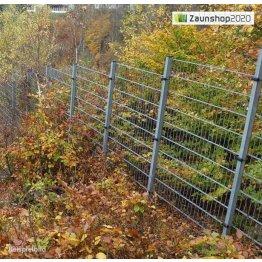 Zaunpfosten mit U-Bügel für Zaunhöhe: 1608...